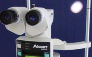 Alcon Yag laser καψουλοτομή